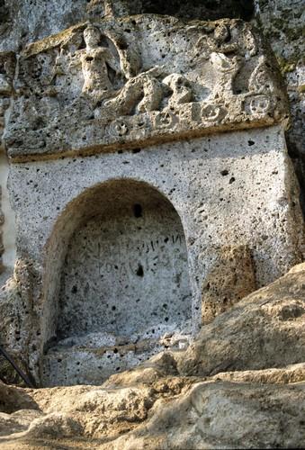 Sovana Tomba della Sirena