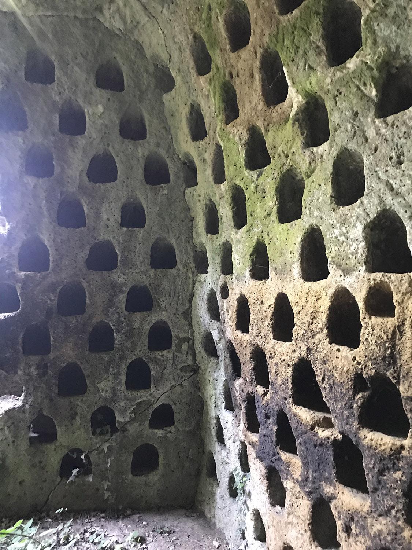 Colombari insediamento Vitozza