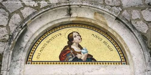 Saturnia Mosaico porta d'ingresso Chiesa Parrocchiale
