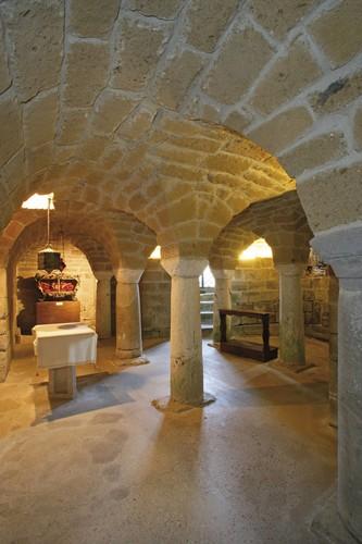 Duomo di Sovana catacombe di San Mamiliano